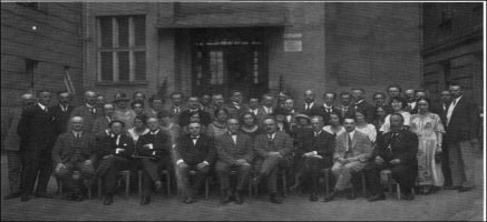The First International Congress of Logopedics and Phoniatrics,Vienna, 1924
